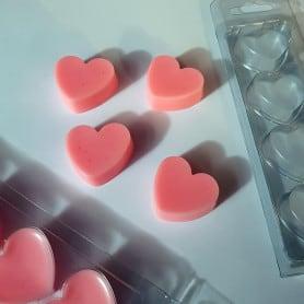 Moule fondants 4 cœurs