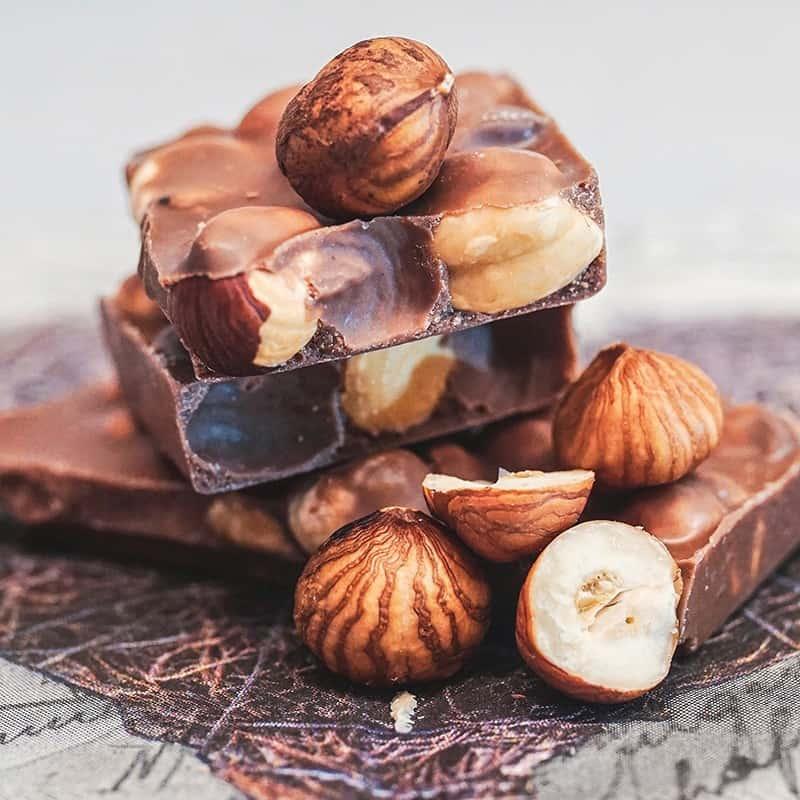 Chocolat noisette - Parfum pour bougies