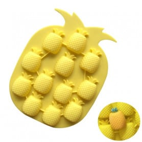 Moule silicone 12 ananas