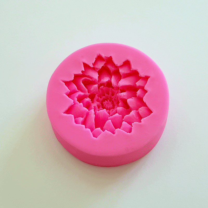 Moule silicone lotus