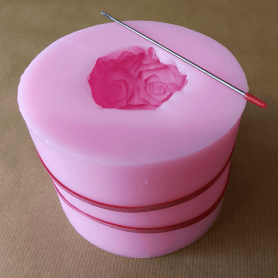 Moule silicone boule roses