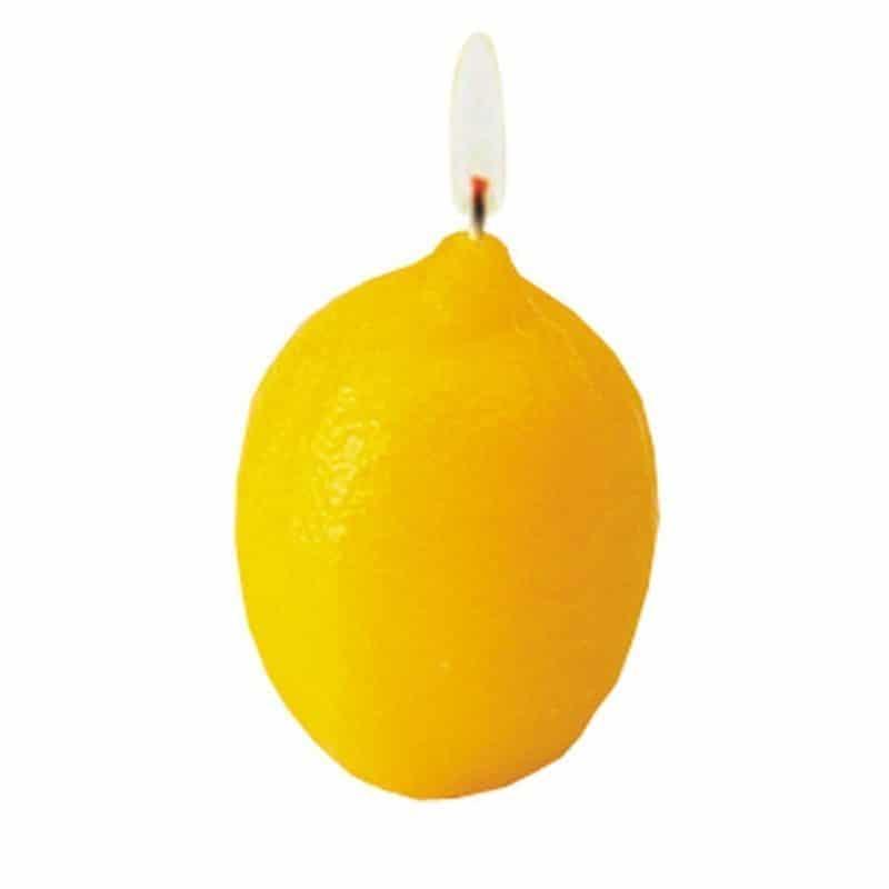 Citron - Moule en latex pour bougies