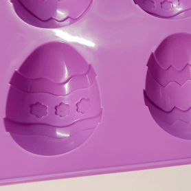 Moule silicone 6 œufs de pâques