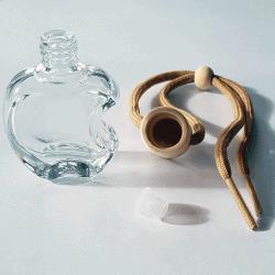 Flacon diffuseur pomme transparent