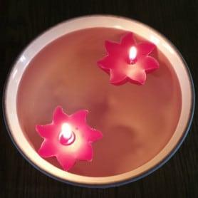 Moules en forme de rosace