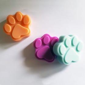Moule silicone pattes de chat