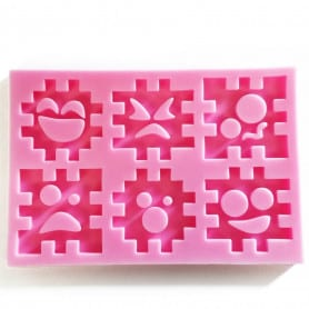Moule silicone puzzle
