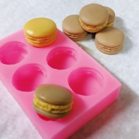 Moule silicone macarons